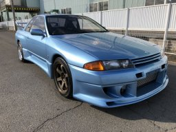 Nissan Skyline GT-R, custom color with custom body kit and aftermarket parts