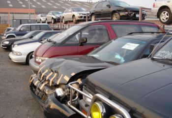 Salvage cars yards